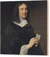 Philippe De Champaigne    Jean Baptiste Colbert 16191683 Wood Print