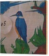 Philippine Kingfisher Painting Contest 6 Wood Print