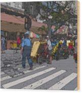 Philippines 906 Crosswalk Wood Print