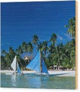 Philippines, Boracay Isla Wood Print