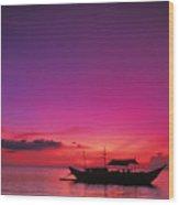 Philippines, Boracay Island Wood Print