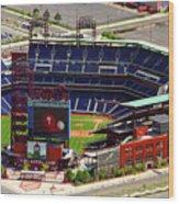 Phillies Citizens Bank Park Philadelphia Wood Print