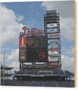 Phillies Wood Print