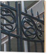 Phillips Simmons Snake Gate Wood Print
