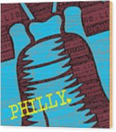 Philly Liberty Bell Wood Print