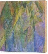 Philodendron Phun Wood Print