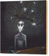 Philosopher Wood Print