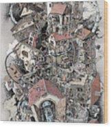 Philosophia Turbae Wood Print