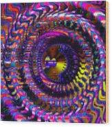 Philosophical Rainbow Wood Print