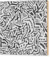 Phlogiston Wood Print
