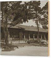 Phoebe A Hearst Social Hall Asilomar Pacific Grove Circa 1925 Wood Print