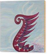 Phoenix - Hope Wood Print