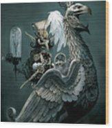 Phoenix Goblineer Wood Print by Paul Davidson