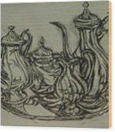 Phoenix II Wood Print