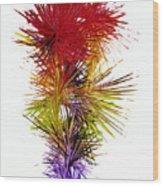 Phoenix Is Rising Series 1800.022414 Wood Print