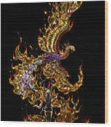 Phoenix Wood Print