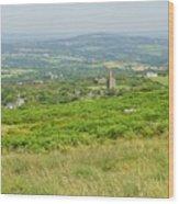 Phoenix United Mine Ruins On Bodmin Moor Wood Print