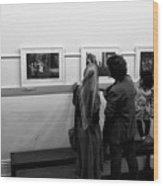 Photo Critics Wood Print