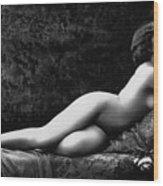 Photo Erotique D'une Femme Nue Wood Print