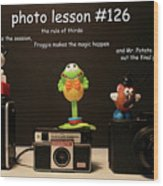 Photo Lesson  Wood Print