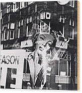 Photograph Of Marilyn Wood Print