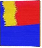 New Flag Wood Print