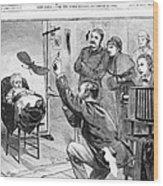 Photographer, 1882 Wood Print