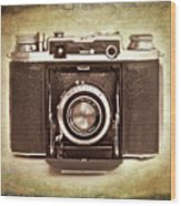Photographer's Nostalgia Wood Print by Meirion Matthias
