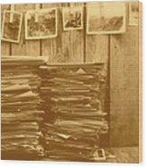 Photographic Memories Wood Print