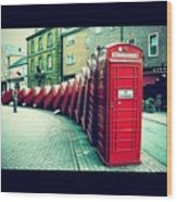 #photooftheday #london #british Wood Print by Ozan Goren