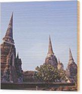 Phra Si Sanphet Wood Print