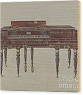 Piano Forte Wood Print