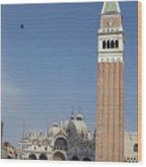 Piazza San Marco Wood Print