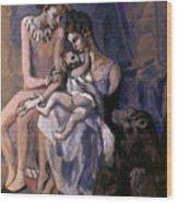 Picasso: Acrobats, 1905 Wood Print