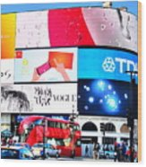 Piccadilly Magic Wood Print