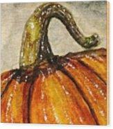 Pick A Pumpkin Wood Print
