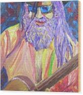 Pickin N Grinnin Wood Print