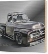 Pickup Named Penny Wood Print