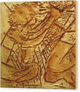 Picnic - Tile Wood Print