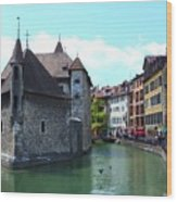 Picturesque Annecy, France Wood Print