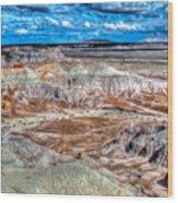 Picturesque Blue Mesa Wood Print