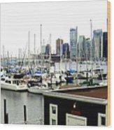 Picturesque Vancouver Harbor Wood Print