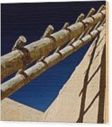 Picuris Pueblo Ladder. Wood Print
