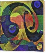 Piece By Piece Wood Print