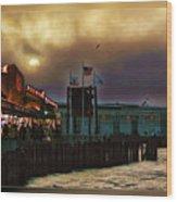 Pier 39 In San Francisco  Wood Print