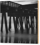 Pier Abstract Wood Print