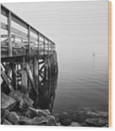 Pier At Popham Wood Print
