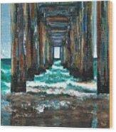 Pier One Wood Print
