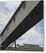 Pier Passage Wood Print
