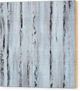 Pier Planks Wood Print